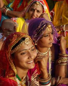 Rajasthan, Indian women