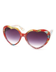 heart thing, style parti, floral heart, sunglasses, person style, heart sunglass