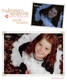 One More Sneak Peek At Miracle Makeover & Essentials for ELEMENTS | Photoshop Actions