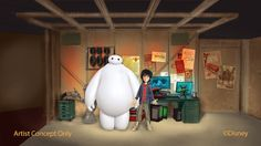 """After Disney's new animated feature """"Big Hero 6"""" hits theaters in November, the stars of the film - Hiro and Baymax - are heading to Disney's Hollywood Studios at Walt Disney World Resort and Disneyland Park in California to greet their fans!"""