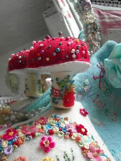 Pincushions made by Maggie Neale