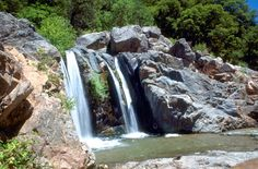 South Yuba River waterfall