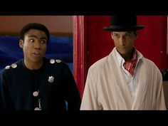 "Troy and Abed recreate Inspector Spacetime. ""Inspector look out, Blorgons!"""