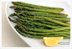 Quick Butter Roasted Asparagus: For a healthier and simpler alternative to asparagus with hollandaise sauce, try roasting asparagus in butter.