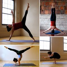 Yoga pose bucket list - this would be oh so awesome