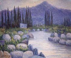 Benito Quinquela Martín, fue el pintor del Riachuelo por excelencia pero también pintó múltiples paisajes argentinos, y es el más popular de los pintores argentinos. Su obra figura en los mejores museos de arte de Europa y América y ha sido uno de los fundadores de la pintura con motivos de nuestra ciudad.