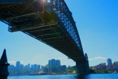 """Why pay over $200 (£130) to climb the Harbour Bridge, known affectionately locally as """"the coathanger"""", when you can snap up the same panoramic views for free by walking across? The 1.15km HarbourBridge walkway is best accessed from the north shore so you can keep your eyes on the Opera House as you stroll (or cycle) across."""