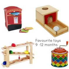 9-12 month old toy recommendations from Racheous at home, 12 month toys, toy recommend, babi, toddlers, infants, homes, montessori, 912 month