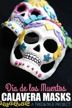 Dia de los Muertos Calavera Masks