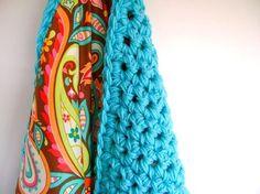 Crochet Reversible Baby Blanket via Craftsy