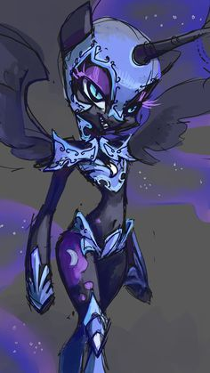 ThePonyArtCollection: Nightmare Moon