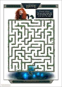FREE Disney Printables - Brave