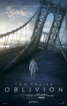 Oblivion.  Interesting movie.  Good effects, nice plot twist.  It's nice to see a science fiction movie with big name stars.  I'd watch it again.  A maybe for the cousins.