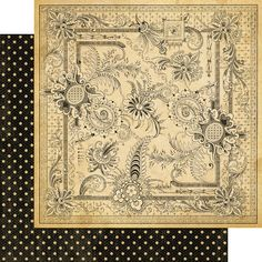 Graphic 45 - Olde Curiosity Shoppe Collection - 12 x 12 Double Sided Paper - Mercurial Masterpiece at Scrapbook.com $1.09