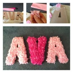 Easy and cheap Modge Podge & tissue paper craft :)