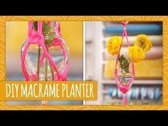 DIY Macrame Planter - HGTV Handmade - YouTube