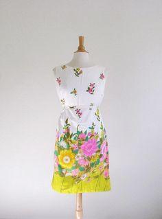 Vintage 60's Garden Dress