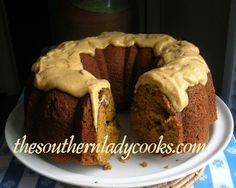 BOURBON and PUMPKIN SPICE CAKE