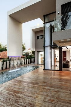 this house is cool with a pool