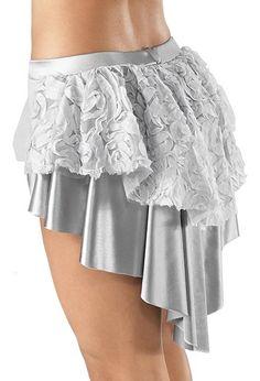 Ribbon Mesh Bustle Shorts - Balera