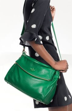 kate spade new york 'cobble hill - little minka' satchel