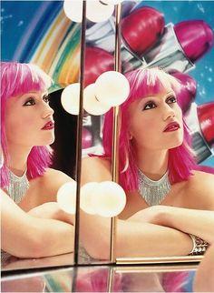 Gwen Stefani photographed by David LaChapelle