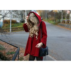 ++ little red riding hooded coat
