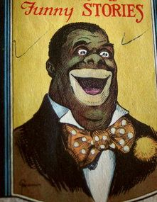 Black Man Cover Joke Book Sold By Unemployed WWI Vets