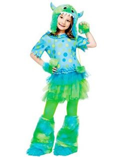 Girl's Monster Miss Costume  | Girls Costumes Fairytale Halloween Costumes