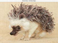 Hedgehog by Megan Nedds at The Woolen Wagon