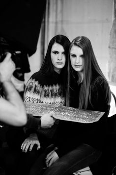 Exclusively on Pinterest, images through the eyes of Constance Maillet and Victor Gueret from the Roland Mouret Autumn/Winter 2014 runway show at Paris Fashion Week