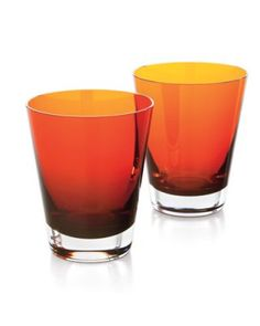 Mosaique tumblers by Baccarat