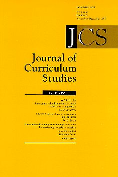 Wing Wah Lawa & Wai Chung Ho (2009) Globalization, values education, and school music education in China. Journal of Curriculum Studies, 41 (4), 501-520