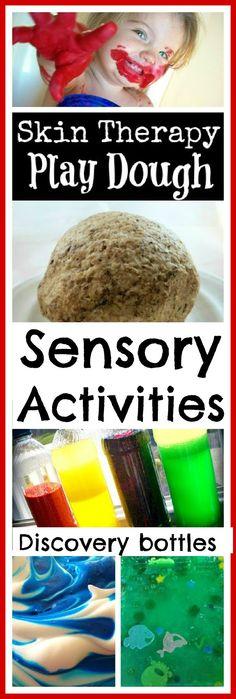 Lots of FUN sensory activities for kids!