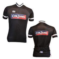 Cinzano cycling jerseys from Pella sportswear