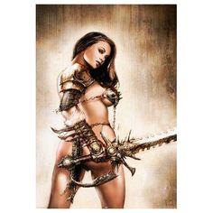 guerrière sexy