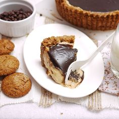 Chocolate Peanut Butter Mousse Tarte