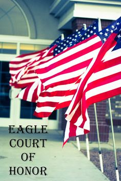 The Red Balloon: Eagle Court of Honor- The Program