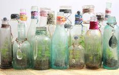 Wine Bottle Cork Crafts | Wine bottles/corks Crafts / wheretreasuresreside: Vintage Bottles ...