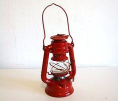 Oil lantern.