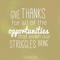 A must read Building A Thankful Family -