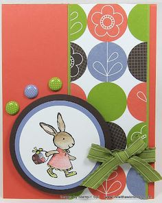 Love the easter stamping