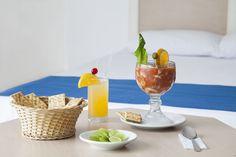 Alimentos frescos en Calinda Beach