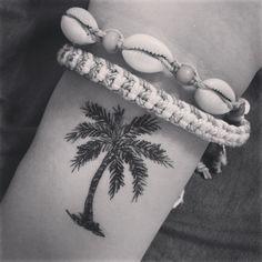 Palm tree tattoo - I want something like this
