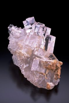 Crystal Clear Fluorite with Celestine