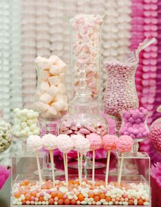 The Party Wagon Candy Bar Ideas - from SHADES OF PINK