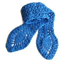 Handmade  Crochet Pineapple Scarf  100 Cotton  Ready by PureCraft, £16.00