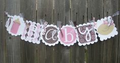 BABY Shower Banner. via Etsy.