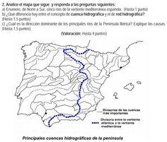 2010. Principales cuencas hidrográficas.