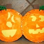 Pumpkin Craft and Name Activity